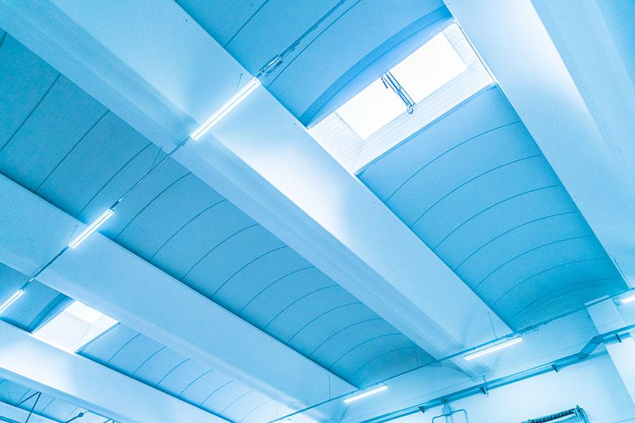 Abafoods, Rovigo, 2009-2012- 2014, lucernari zenitali + efc | BI Engineering