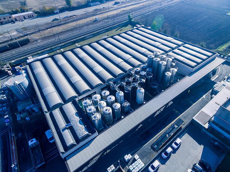 Brenntag, 2011, Bologna,Complesso industriale formato da edificio deposito e una palazzina uffici | BI Engineering