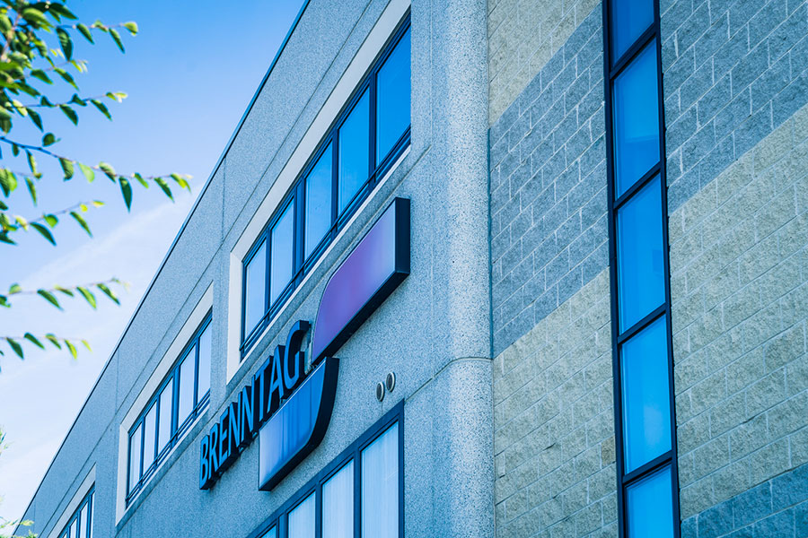 Brenntag, 2011, Bologna,Complesso industriale formato da edificio deposito e una palazzina uffici   BI Engineering