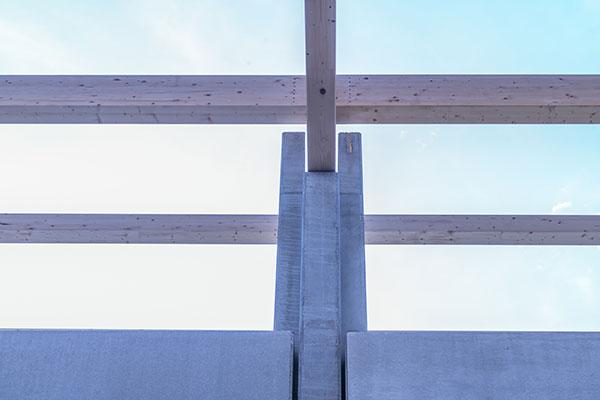 Funghi Valentina, 2017, Bologna, edificio realizzato con strutture miste in prefabbricato / legno / pannelli sandwich | BI Engineering