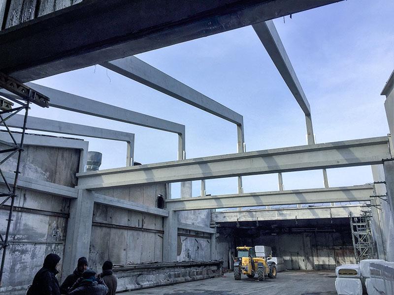 Magri, Bologna, 2017, consolidamento strutturale di parte delle strutture esistenti| BI Engineering