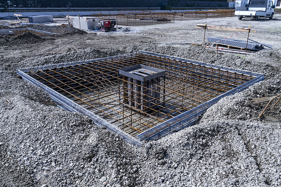OMP, Bologna, 2018, esecuzione opere di fondazione | BI Engineering