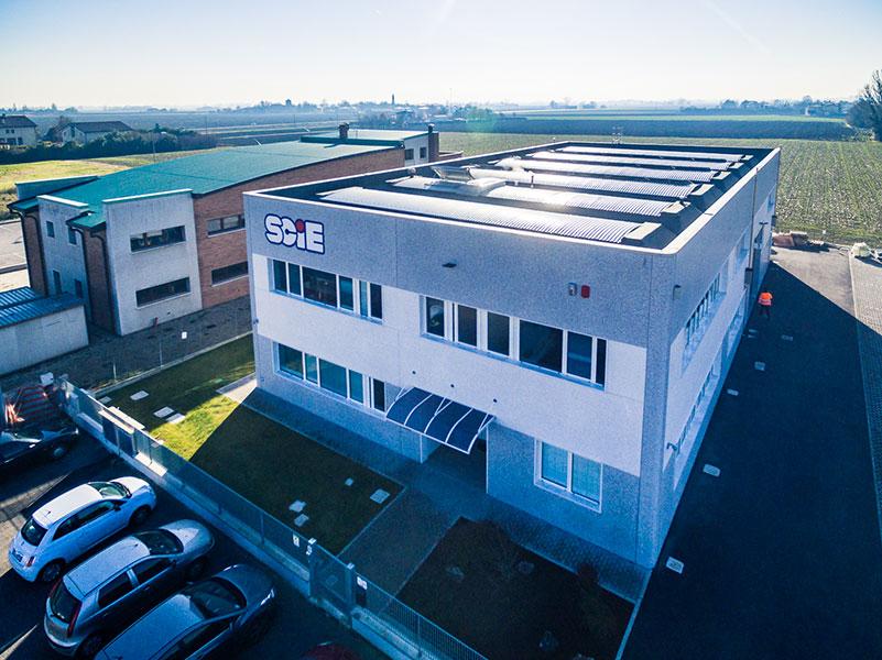 Scie, Bologna, 2014, Edificio industriale formato da zona deposito, lavorazione e palazzina uffici | BI Engineering