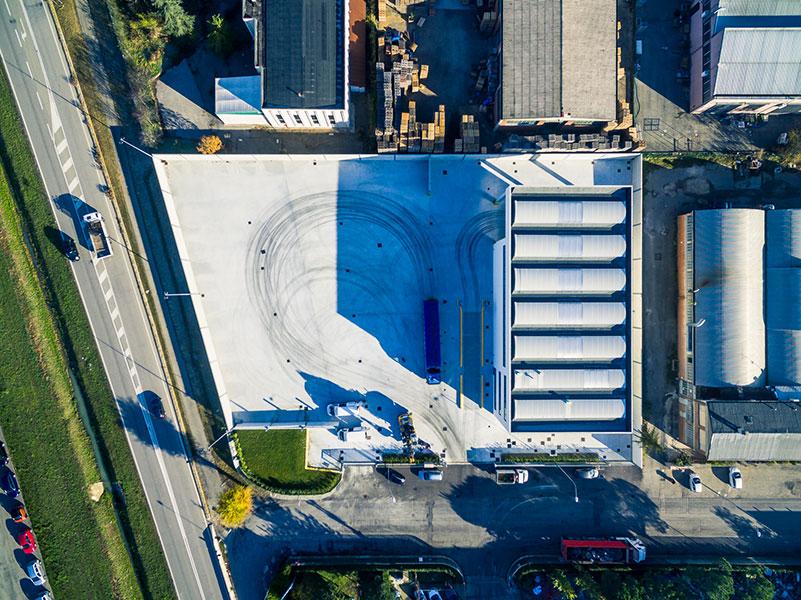 Tondini Metalli, Bologna, 2016, complesso industriale formato da un edificio industriale   BI Engineering