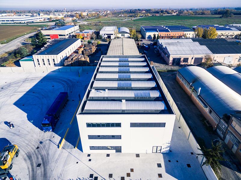 Tondini Metalli, Bologna, 2016, complesso industriale formato da un edificio industriale | BI Engineering