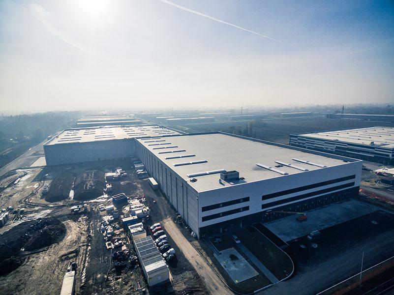 Yoox, Bologna, 2017, complesso logistico | BI Engineering