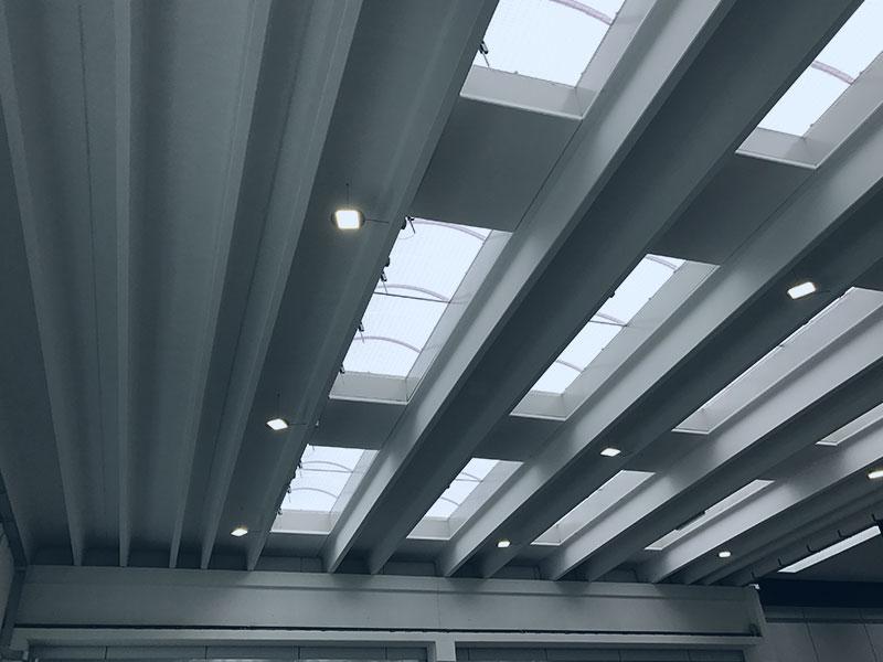 Laserjet, Vicenza, 2017, travi porta carroponte con varie portate | BI Engineering Srl