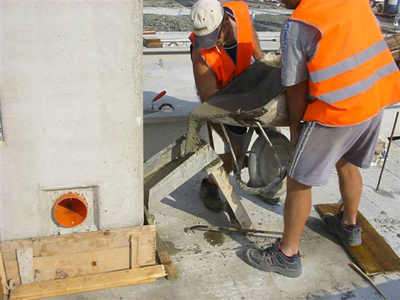 Opere di fondazioni dirette in giunto meccanico | BI engineering