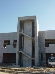 Scala e vano ascensore prefabbricati | BI engineering