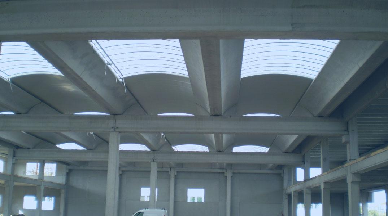 Soluzione con copertura travi alari | BI Engineering