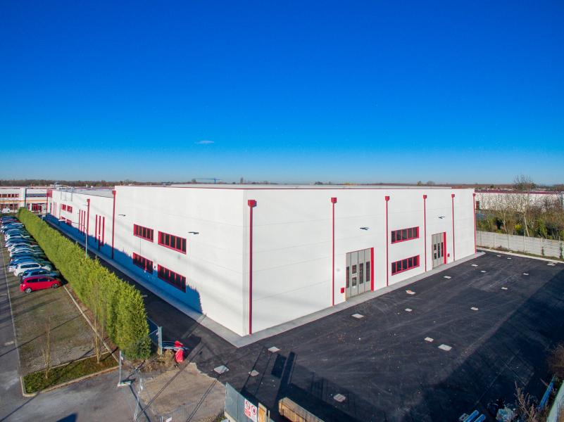 OMP, Bologna, 2018, strutture prefabbricate con copertura TT e shed in cls | BI Engineering