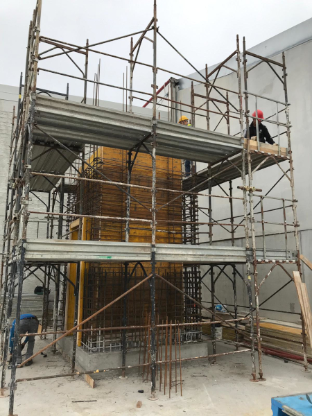 OMP Srl - Vano ascensore nuova palazzina uffici 2019