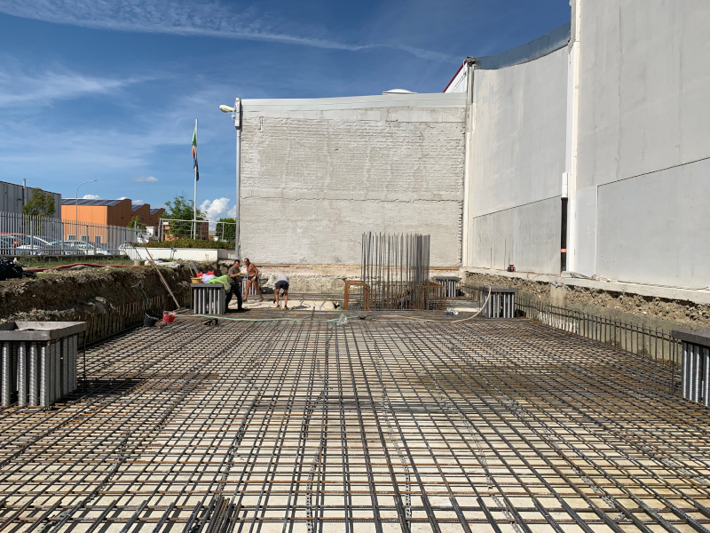 OMP Srl - Fondazioni nuova palazzina uffici 2019