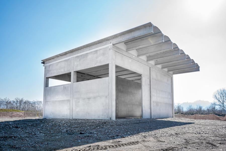 Autodemolizione Bortolotti, Sasso Marconi BO, 2019, Costruzione nuovo deposito